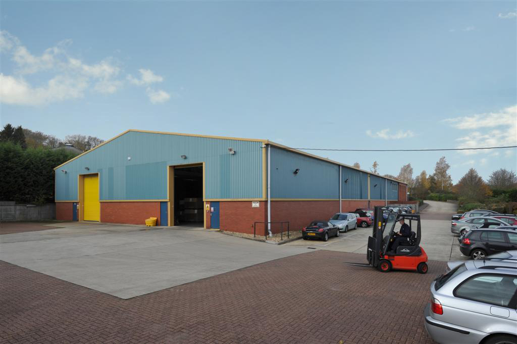 Alton, Omega Park This modern warehouse comprising c.27,000sqft boasts a large secure yard with spare land offering scope to extend the building and/or the yard and is let to Prismatic, a leading business in the development of aerospace systems and technologies.